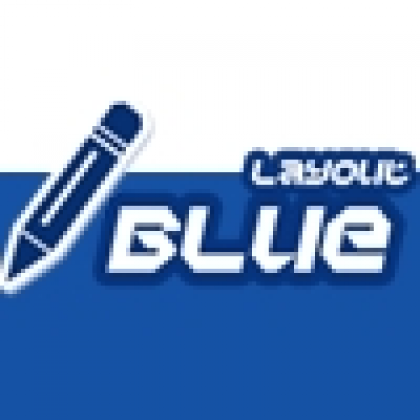Layout Blue