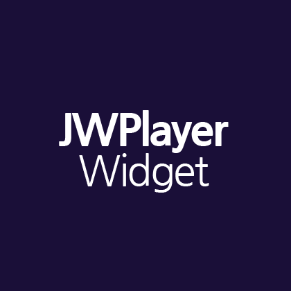 JWPlayer Widget