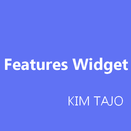 Crew Onepage Features Widget