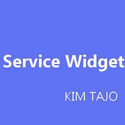 Crew Onepage Service Widget